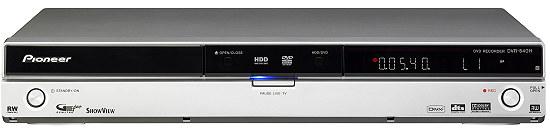 pioneer dvd recorder dvr 540h manual