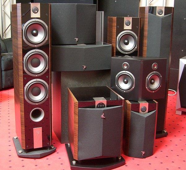 test focal chorus 7 1 surround set. Black Bedroom Furniture Sets. Home Design Ideas