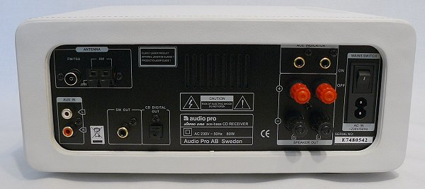 TEST: Audio Pro Stereo One Limited CD-Stereo-Mini-System ...