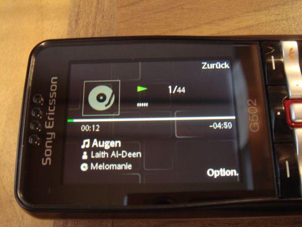 TEST: Mobiltelefon Sony Ericsson G502 (05.12.2008)