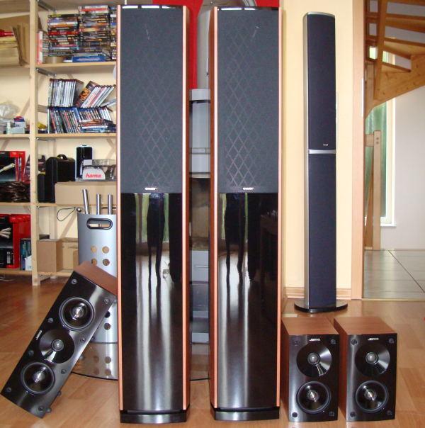 Jamo s606 (jamo s 606) speaker test against vintage magnat speakers