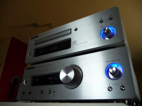 exclusiv test mini komponenten stereoanlage kenwood k 1000. Black Bedroom Furniture Sets. Home Design Ideas