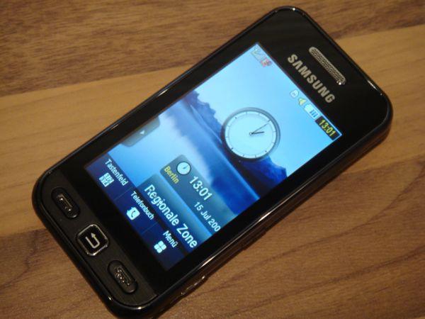Samsung Gt-s5230 Schwarz Das Samsung Gt-s5230