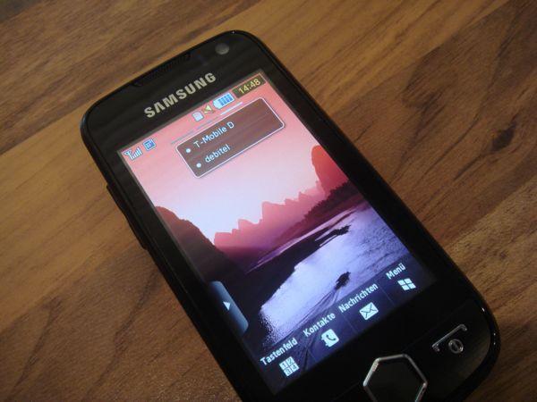 TEST: Samsung Mobiltelefon GT-S8000 JET