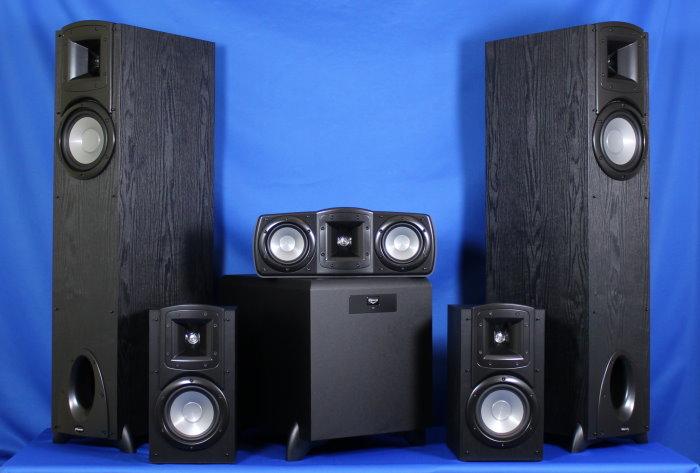 test klipsch synergy 5 1 set f 10 c 10 b 20 und sw 350. Black Bedroom Furniture Sets. Home Design Ideas