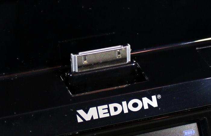 test medion sound station life p65024 f r ipad iphone ipod. Black Bedroom Furniture Sets. Home Design Ideas