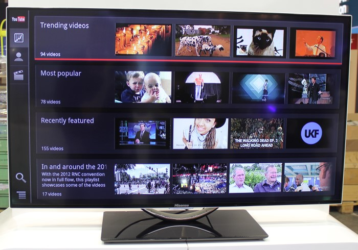 how to use youtube on hisense tv