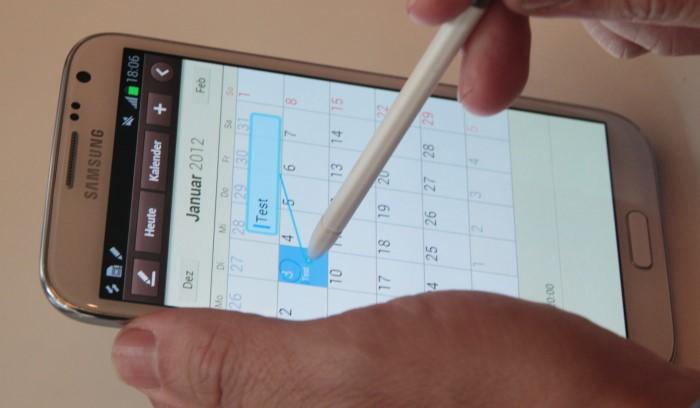 Ifa 2012 hands on galaxy note 2 10 1 und galaxy camera for Samsung magic wand
