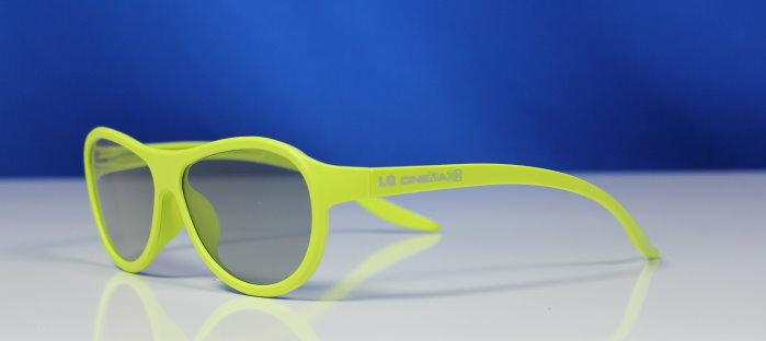 blau cyan brille 3d