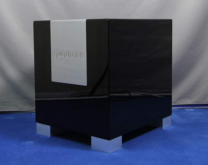 test quadral aktivsubwoofer qube 12 bass gewalt aus hannover area dvd. Black Bedroom Furniture Sets. Home Design Ideas