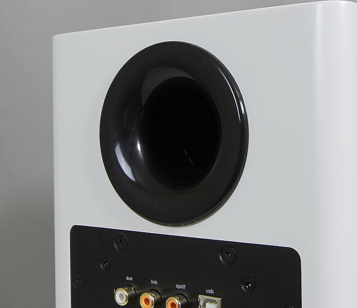Nubert nuPro A-100 Bassreflexrohr