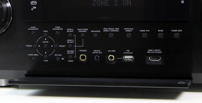 Pioneer SC-LX87 Bedienelemente Frontklappe