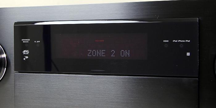 Pioneer SC-LX87 Display