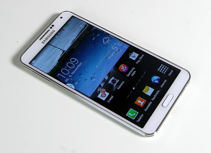 Samsung Galaxy Note3 Frontansicht2