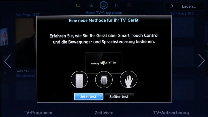 Samsung UE55F8590 Menuebild 12