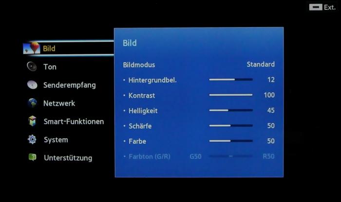 Samsung UE55F8590 Menuebild 31