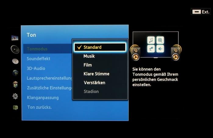 Samsung UE55F8590 Menuebild 35