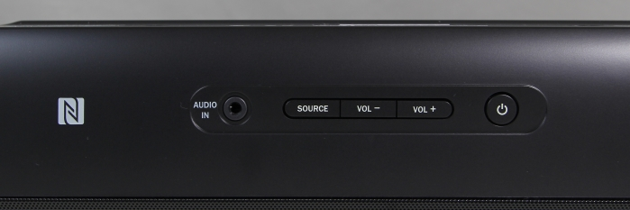 Teufel Cinebar11 Soundbar Bedienelemente Oberseite