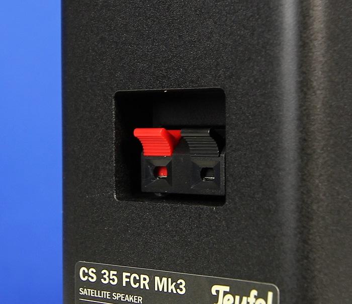 Teufel Consono35 Mk3 CS35FCR Anschluesse