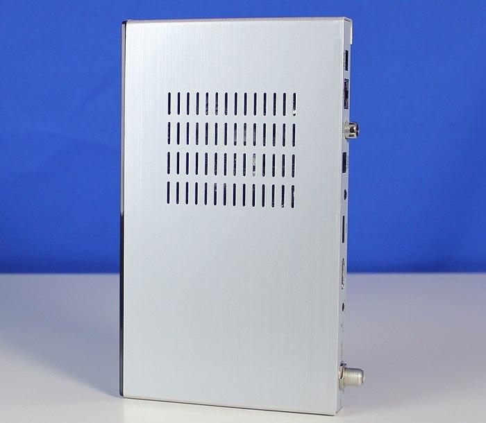 test grundig gr40011 sehr schmaler satelliten receiver mit einfacher handhabung. Black Bedroom Furniture Sets. Home Design Ideas