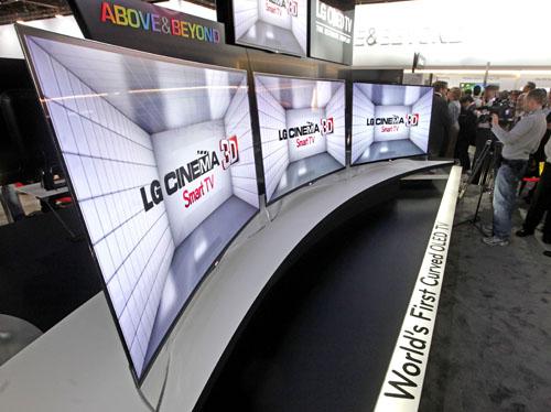 ces lg zeigt gew lbtes oled display im 55 zoll format area dvd. Black Bedroom Furniture Sets. Home Design Ideas