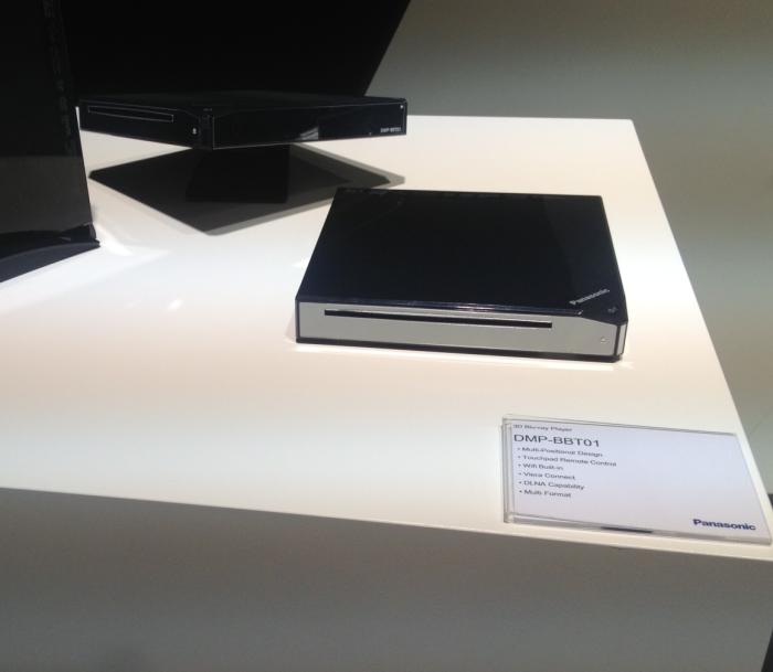 Auch auf der convention der dmp bbt01 ein ultrakompakter3d blu ray