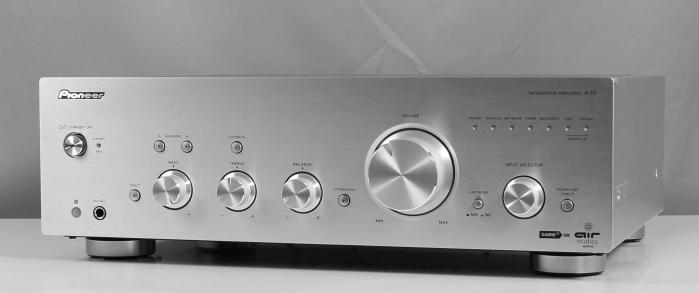 TEST: Pioneer Stereo-Komponenten A-700 Vollverstärker und ...