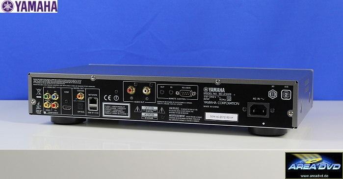 TEST: Yamaha Blu-ray/Universal-Player BD-A1020 (02.04.2013)