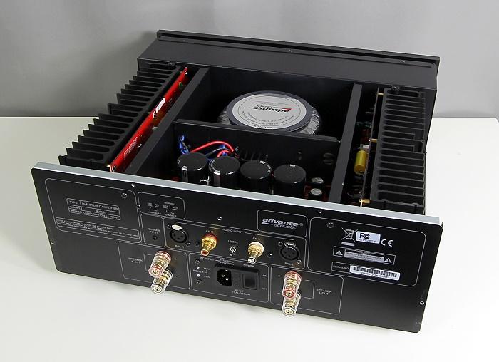 Advance Acoustic X-A160 Innenleben Gesamt1