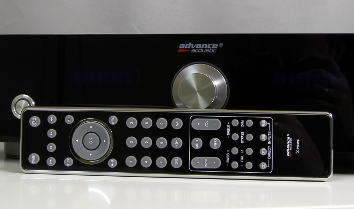 Advance Acoustic X-Preamp Fernbedienung