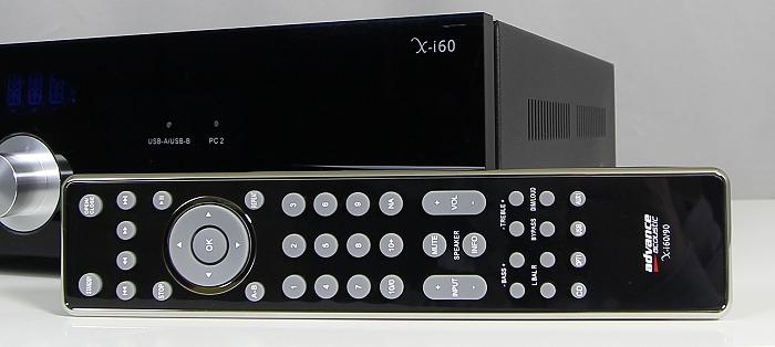 Advance Acoustic X-i60 Fernbedienung1