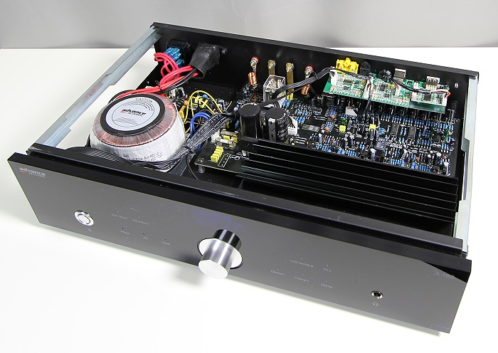 Advance Acoustic X-i60 Innenleben Gesamt1