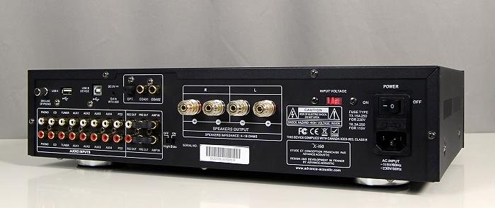 Advance Acoustic X-i60 Rueckseite Seitlich4