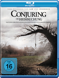 Conjuring Blu-ray Disc