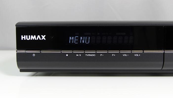 Humax DVR-9900C Display Bedienelemente