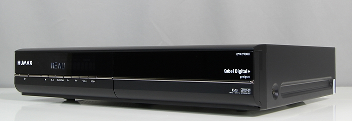 Humax DVR-9900C Front Seitlich2