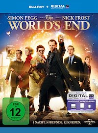 The Worlds End Blu-ray Disc