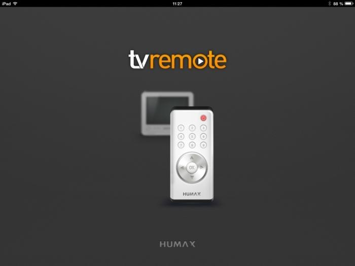 Humax iCord Evolution tv remote App1