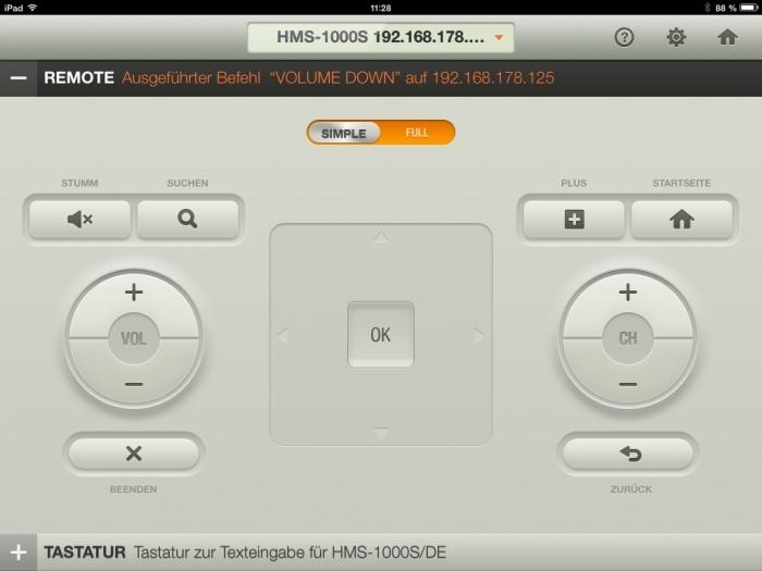 Humax iCord Evolution tv remote App3