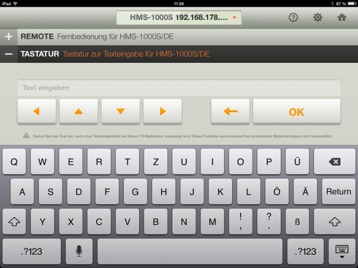 Humax iCord Evolution tv remote App4