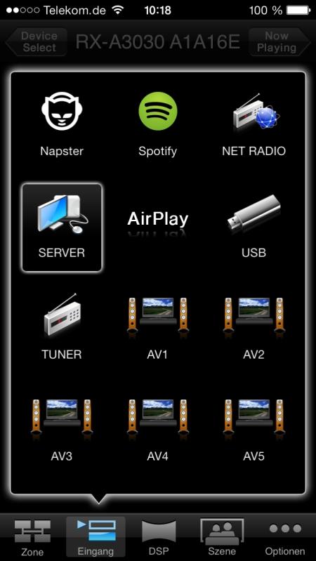 Yamaha RX-A3030 App 7