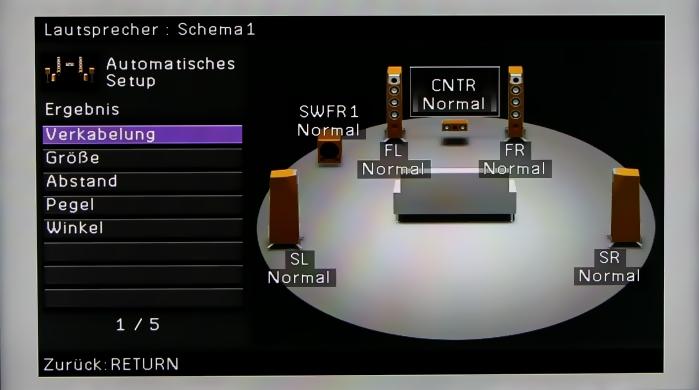 Yamaha RX-A3030 Menuebilder 11