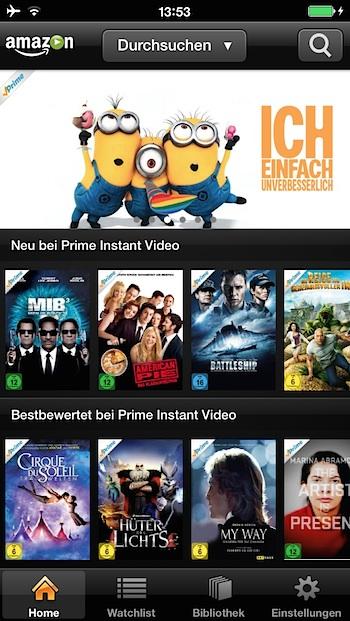 amazon Prime Instant Video App