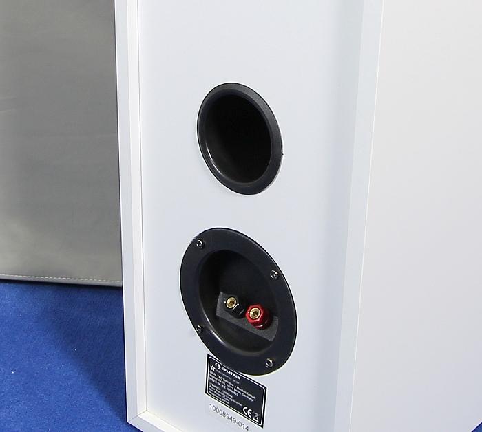 Auna AV2-Linie-300 Speaker Bassreflexrohr Anschluesse