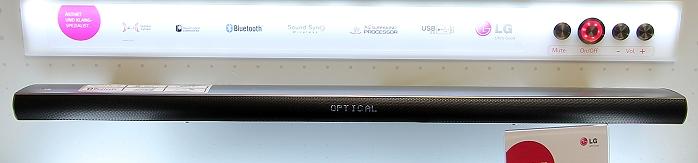 LG-Roadshow: SoundPlate und Soundbar-Sortiment mit Mini-Preview LAP240