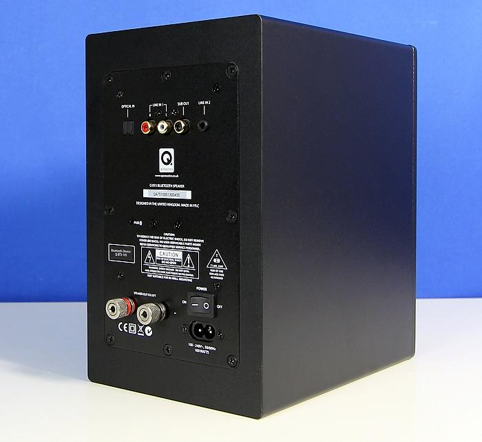 Q Acoustics Q-BT3 Rueckseite Seitlich1