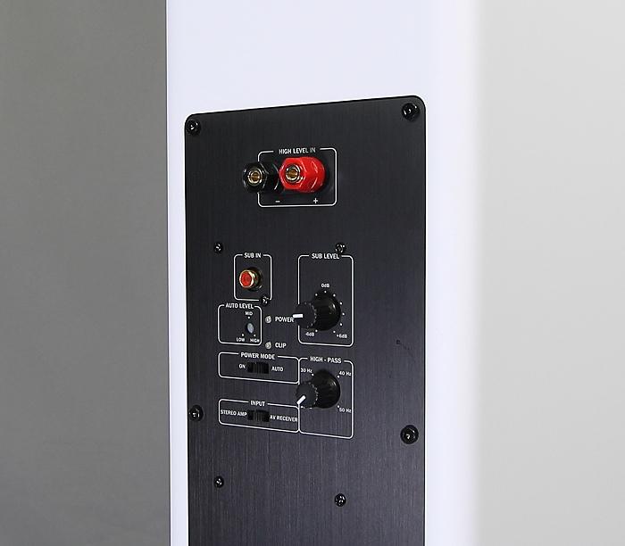 Teufel Theater 6 Hybrid H600F Bedienelemente Anschluesse