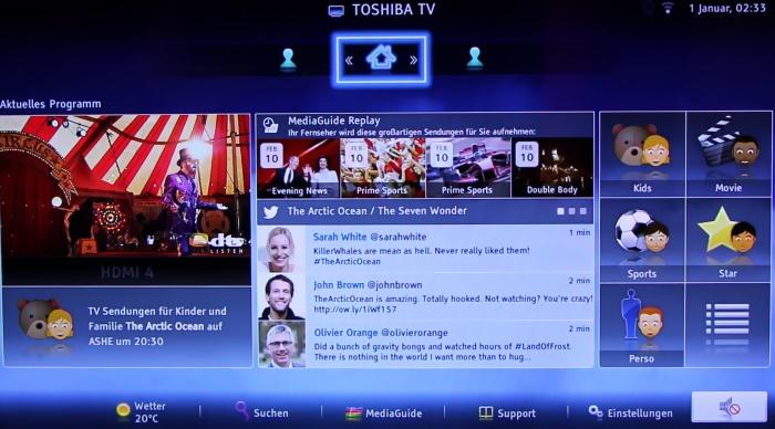 Toshiba M7 Serie Screenshots1