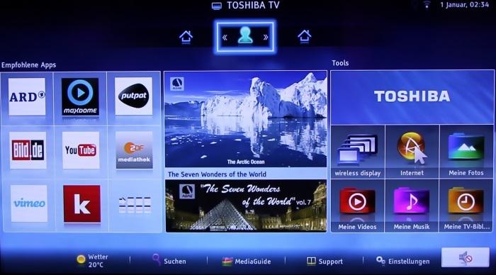 Toshiba M7 Serie Screenshots3