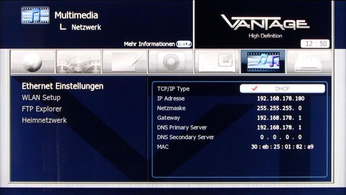Vantage VT-Zapper Menuebilder 15